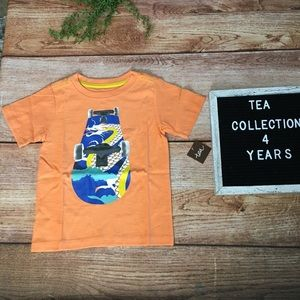 Tea Collection Skate Deck Graphic Tee 4 years